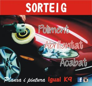 SORTEIG ACTIU FINS 31/05/2016